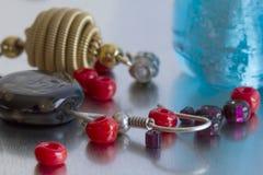 Mody biżuterii kawałki obraz stock