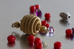 Mody biżuterii rzeczy Fotografia Royalty Free