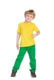 Mody chłopiec fotografia stock