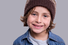 Mody Chłopiec TARGET1035_0_ Fotografia Stock