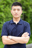 Młody chiński mężczyzna Obrazy Royalty Free