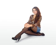 mody dama Fotografia Stock