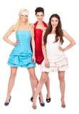 mody dziewczyn grupa Zdjęcia Royalty Free