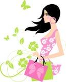 mody dziewczyna Obrazy Stock