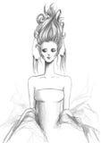 Mody dziewczyna 3 Zdjęcia Royalty Free