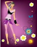 mody dziewczyna Obrazy Royalty Free