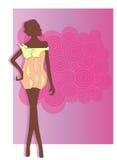 mody dziewczyna ii Zdjęcia Stock