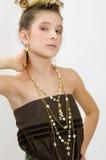 mody dziewczyny klejnotów pokazywać Fotografia Royalty Free