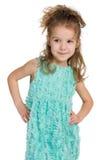 mody dziewczyny mały ja target43_0_ obrazy stock