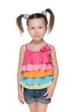 mody dziewczyny mały ja target4492_0_ Fotografia Stock