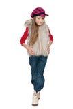 mody dziewczyny mały ja target4492_0_ zdjęcia stock