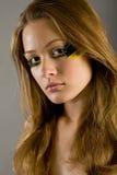 mody dziewczyny portret zdjęcie royalty free