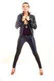 mody dziewczyny punk rock zdjęcie stock