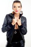 mody dziewczyny punk rock Fotografia Royalty Free