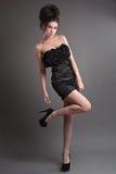 mody dziewczyny target1663_0_ studio Zdjęcie Stock