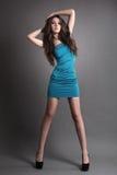 mody dziewczyny target2067_0_ studio Zdjęcia Stock
