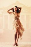 mody dziewczyny wizerunku tonowania rocznik Zdjęcia Royalty Free