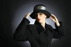 mody elegancka kobieta obrazy stock