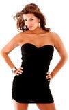 mody elegancka kobieta Obraz Royalty Free