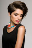 mody fryzura Zdjęcie Stock
