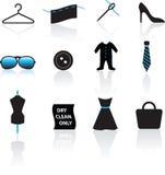 mody ikony set Obraz Royalty Free