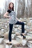 mody kobieta Zdjęcia Royalty Free