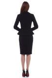 Mody kobiety ciała kształta stylowej perfect brunetki odzieży włosiany czerń Fotografia Stock