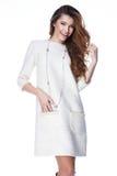Mody kobiety ciała kształta stylowej perfect brunetki włosiana odzież Obraz Stock