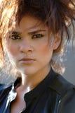 mody latynoska portreta kobieta Zdjęcie Stock