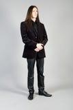 mody mężczyzna portret zdjęcia royalty free