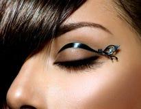 Mody Makeup Zdjęcie Stock