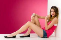 mody modela menchii kobiety potomstwa Fotografia Royalty Free