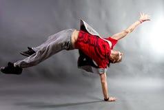 Młody męski tancerz Fotografia Royalty Free