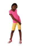 mody nastoletni szczęśliwy zdjęcia stock