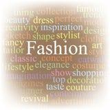mody obłoczna etykietka Zdjęcia Royalty Free