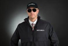 Młody ochroniarz W mundurze Zdjęcia Royalty Free