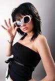 mody piękna dziewczyna Zdjęcie Stock