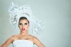 Mody piękna kobieta Zdjęcie Stock
