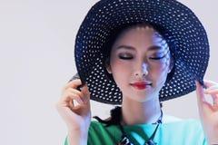 mody piękna kobieta Fotografia Stock