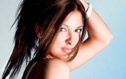 Młody piękny target646_0_ kobiety Obrazy Stock