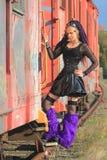 mody pociąg lateksu pociąg Fotografia Royalty Free
