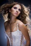 mody portreta kobiety Fotografia Stock