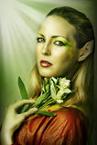 mody portreta seksowni kobiety potomstwa zdjęcia royalty free