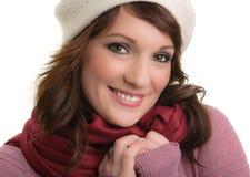 mody portreta zima Obraz Stock