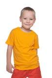 Mody przystojna chłopiec fotografia stock