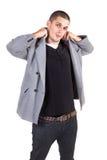 mody samiec wzorcowi target1787_0_ potomstwa Zdjęcia Stock