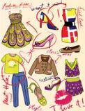 mody splendoru magazynu opowieść Fotografia Stock