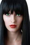 mody splendoru portreta kobieta Fotografia Stock