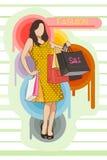 Mody sprzedaż Royalty Ilustracja