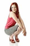 mody szczęśliwy nastoletni Zdjęcia Stock